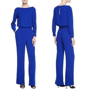 04a30f1412a Diane Von Furstenberg Pants - Diane von Fürstenberg Cynthia Jumpsuit in  Blue NWT